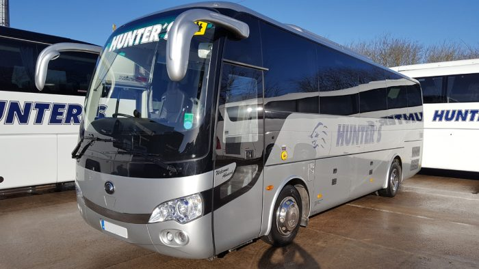 daventry coach hire